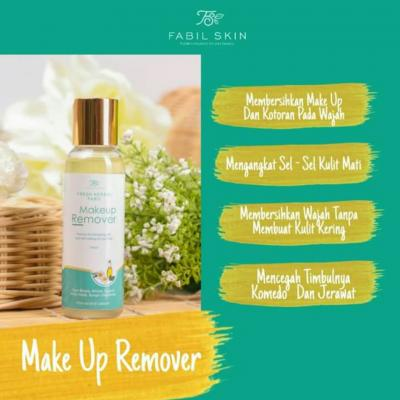 Makeup Remover Alami Fabil Skincare Herbal