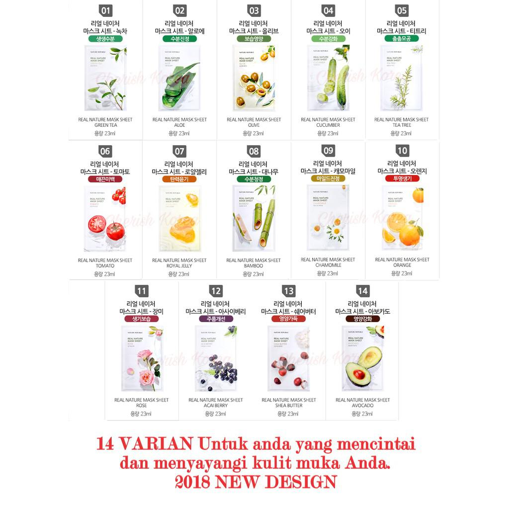 Nature Republic - Real Nature Mask Sheet