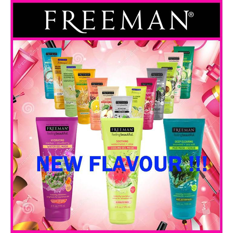 FREEMAN Mask 175ML Ready All Varian (Original 100%)