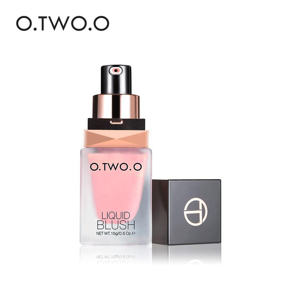 [Bayar Di Tempat]O.TWO.O Blush On Kosmetik / Makeup Cair Tahan Lama