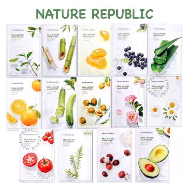 NATURE REPUBLIC Real Nature Mask Sheet
