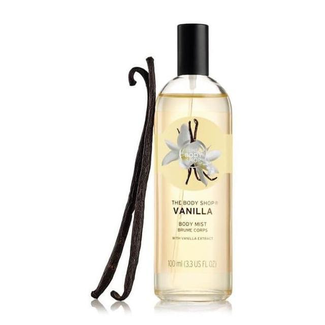 The Body Shop Vanilla Body Mist 100Ml