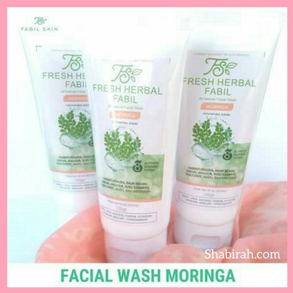 Facial Wash untuk wajah kusam